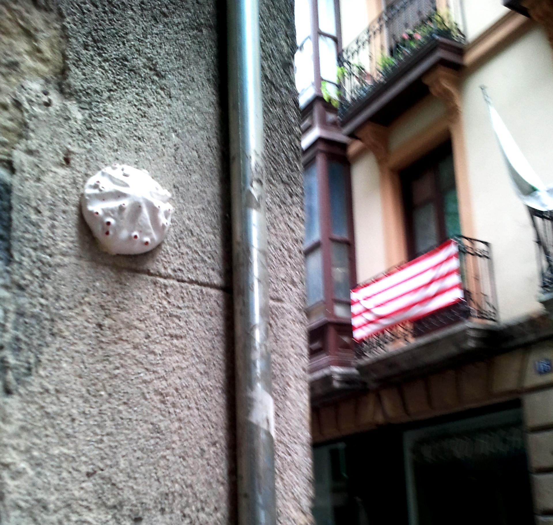 Esporas en el Casco Viejo de Bilbao