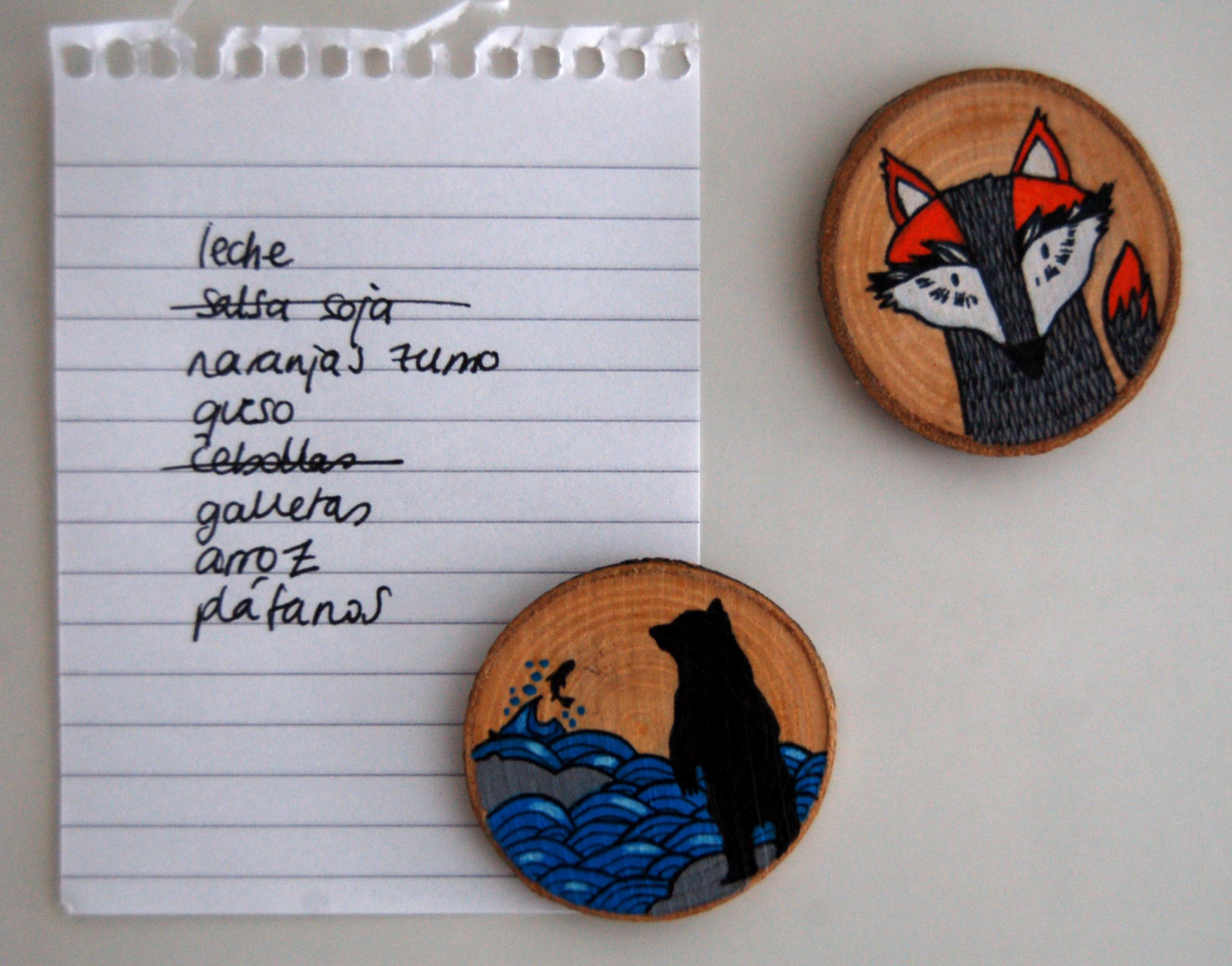señores zorro y oso